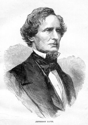Jefferson davis recent call for the arming of slaves in defense of