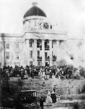Jefferson Davis Inaugration