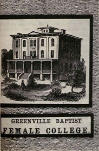 Greenville Baptist Female College