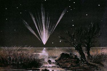 """Thatcher's Comet, the """"Great Comet of 1861"""""""