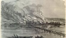The Confederate Burning of the Town of Hampton, Virginia