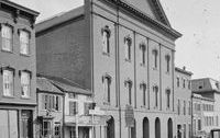 Ford's Theater, the former First Baptist Church of Washington, D.C.
