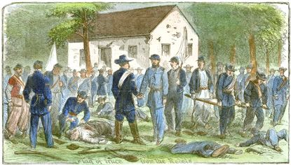 Truce at the Dunker Church by Alfred Waud