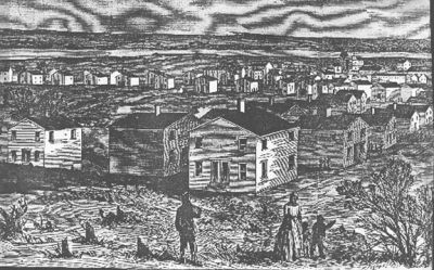 Freedman's Village, Districut of Columbis (Harpers Weekly, May 1864)
