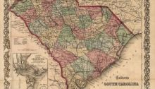 South Carolina Civil War Map