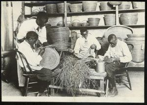 A Basket-weaving Class at the Penn School