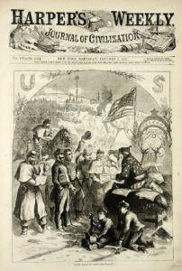 Thomas Nast's St. Nick, Christmas 1862