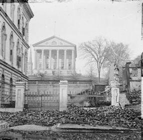 The Confederate Capitol in Richmond
