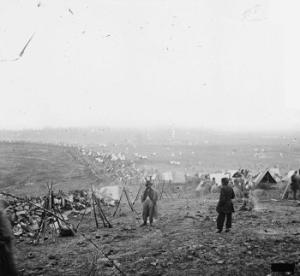 The Federal Lines, Battle of Nashville, December 16, 1864