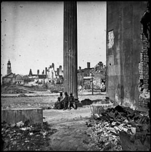 Charleston, after the surrender