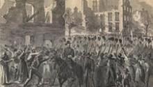 The 55th Massachusetts marching through Charleston