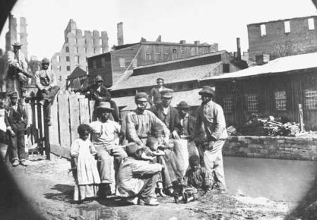 Freedmen in Richmond, Virginia.