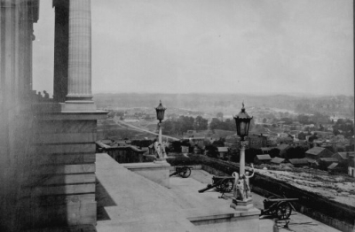The Nashville capitol during Union occupation.
