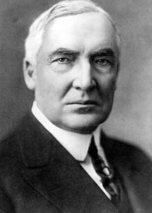 Warren G. Harding, U.S. President, 1921-1923