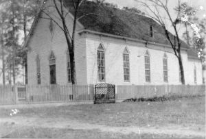 A Civil War Era Baptist Church