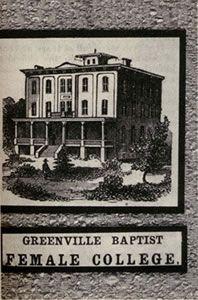 Greenville Baptist Female College
